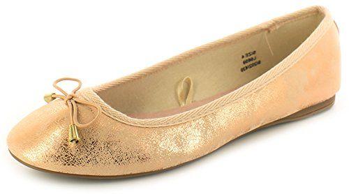 Neu Damen/Damen Schuhe Ballerinas Flach Sohle Rotgold - Rotgold - UK GRÖßEN 3-8 - Damen, Roségold, 40 - http://on-line-kaufen.de/apache/40-eu-neu-damen-damen-schuhe-ballerinas-flach-uk-gr