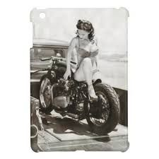 motorcycle pinup girls - Google Search