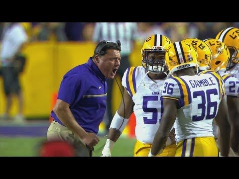 Coach O La Football History Lsu Football Lsu Louisiana State University