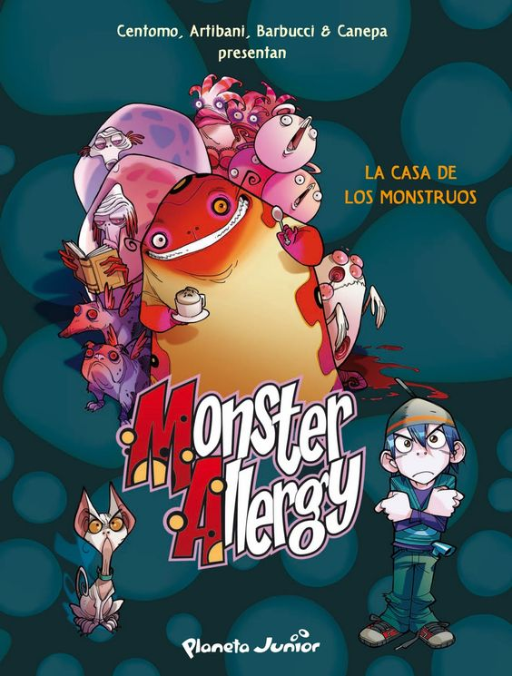 Monster Allergy - Alessandro Barbucci