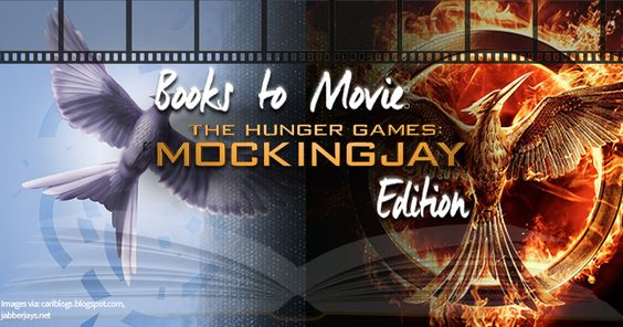 The #Mockingjay is taking flight. Prepare yourself for the movie in this Books to Movie Challenge!