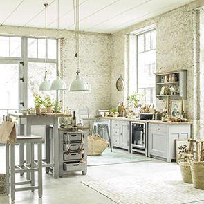 Meuble De Cuisine Style Campagne Interior S En 2020 Meuble Cuisine Meuble Bas Cuisine Evier Blanc