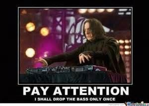 Snape drops the beat