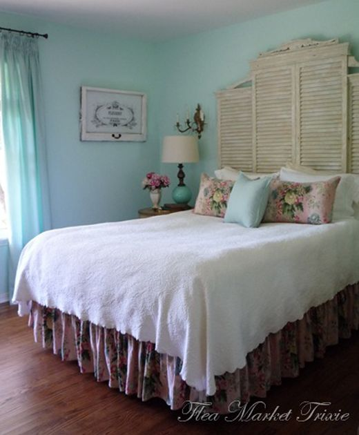 House of Turquoise: Love the head board