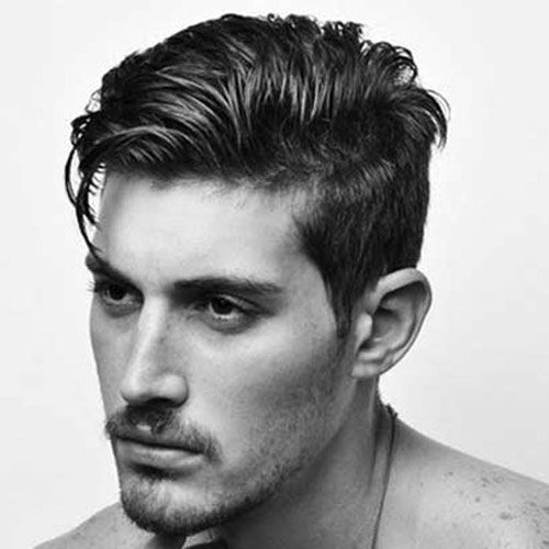 Tapered Sides With Long Comb Over Thick Hair Styles Cool Hairstyles For Men Long Hair Styles Men