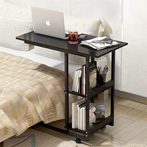 Vielleicht Mochten Sie Lieber Mit Ihrem Laptop Arbeiten Oder Einfach Im Bett Fruhstucken Der Overbed Table I Computer Desks For Home Bookshelf Table Home Desk