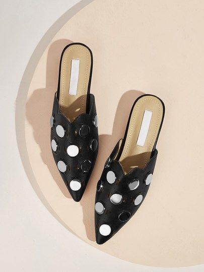 Fashionable Summer  Flat Mules
