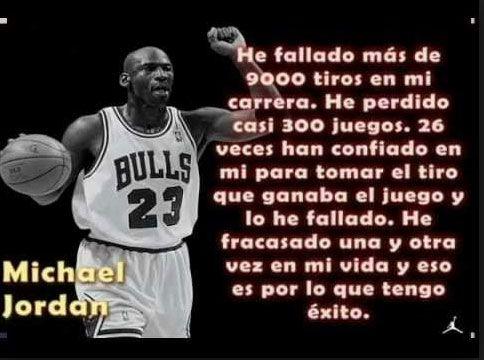 El #éxito pasa en numerosas ocasiones por #fracasar unas cuantas veces, es parte del aprendizaje y del camino para la meta.