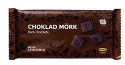 IKEA CHOKLAD MÖRK ダークチョコレートカカオ60%