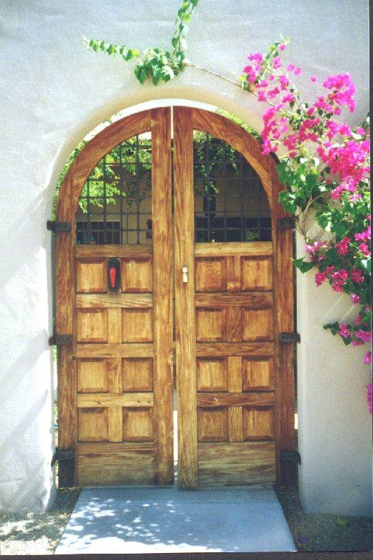 Duffmoor com custom gates wooden gates courtyard gates for Lodi garage doors and more in phoenix az