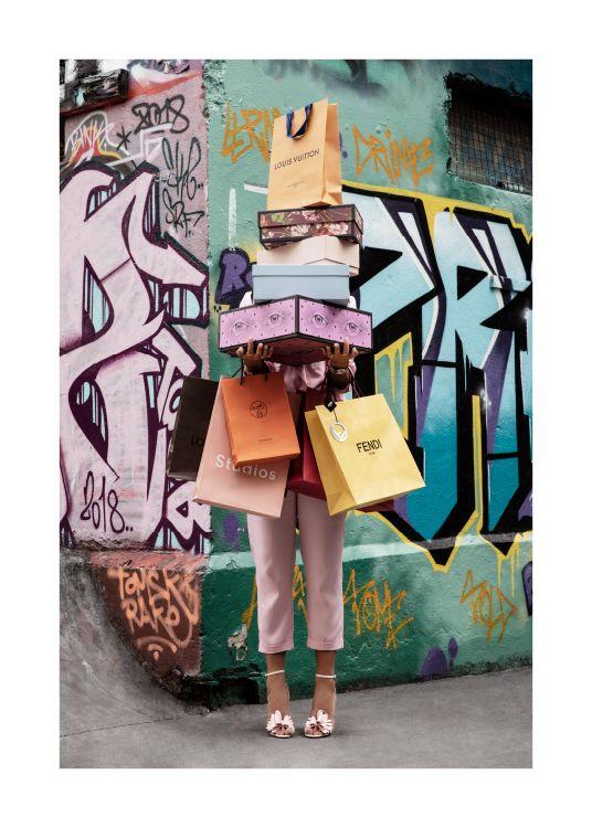 Shopping Spree Poster Prints Modern Art Prints Online Wall Art