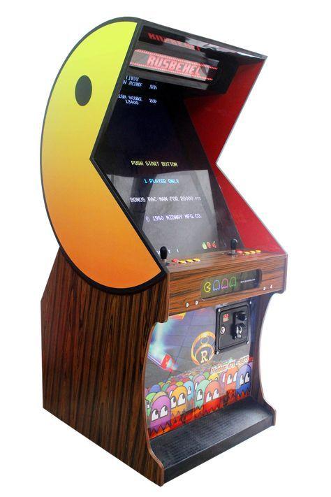 Pacman Deluxe Arcade Retro Videojuegos Arcade Juego De Arcade
