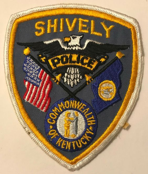 Us State Of Kentucky City Of Shively Police Department Patch