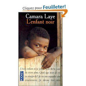 """Camara Laye, """"L'Enfant Noir"""", 224 pages."""