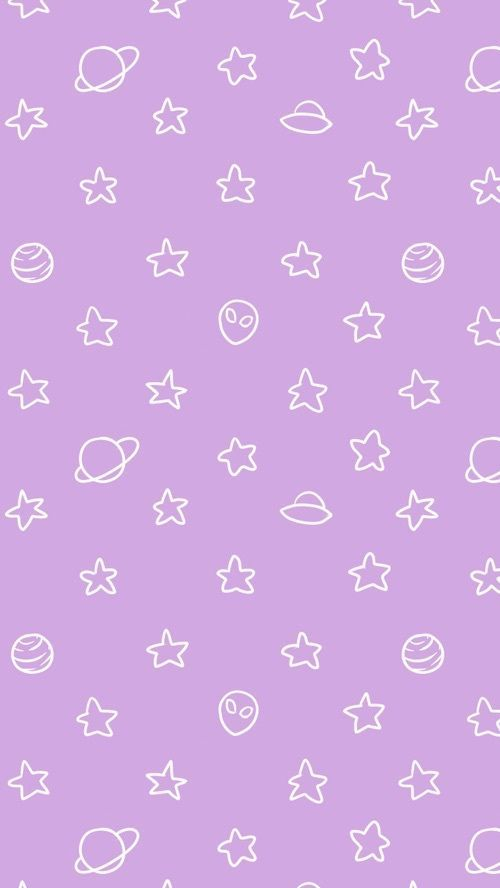 Wallpaper Background And Stars Image Purple Wallpaper Iphone