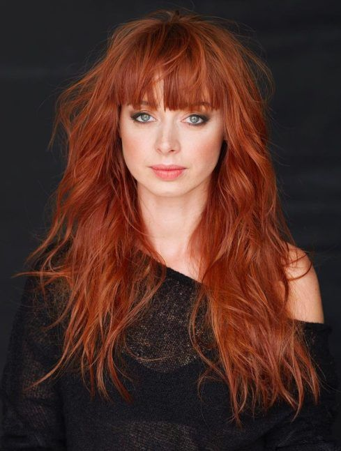60 Best Long Red Hairstyles Haircuts 2018 Latest Hairstyles 2020 New Hair Trends Top Hairstyles Long Shag Haircut Long Hair With Bangs Shag Haircut