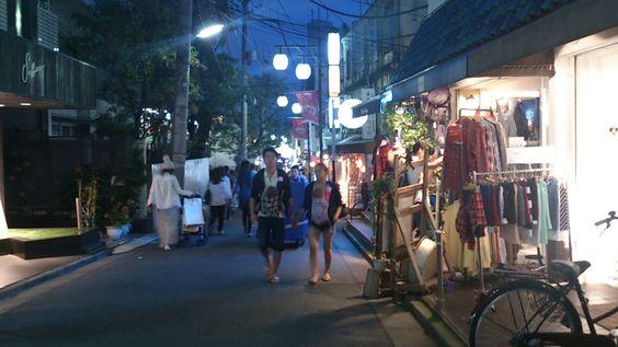 An alley at Shimokitazawa, Tokyo