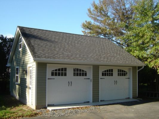 2 Car Detached Garage Kits Plans Garage Door Hardware Garage Kits Garage Doors