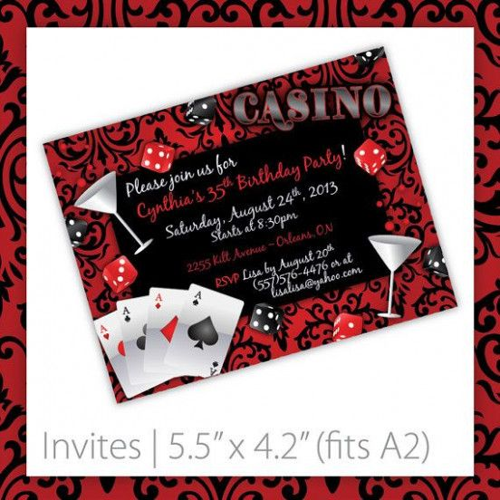 Is Vegas Party Invitation Template Any Good Seven Ways You Can Be Certain Vegas Party Invi