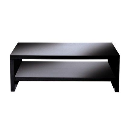 High Gloss Black Coffee Table By Levv 900mm Wide Contemporary Tables Pinterest Black Tv