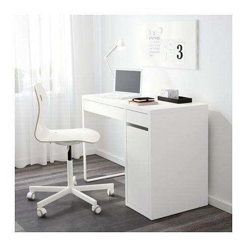 Micke Desk White 105x50 Cm Shop Here Ikea Micke Desk Ikea Micke Ikea White Desk