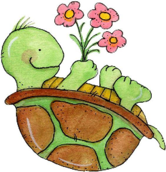 TURTLE CLIP ART Frogs Turtles Pinterest Clip Art