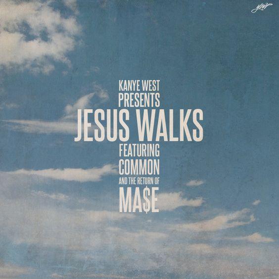 Kanye West – Jesus Walks (Mase Remix) (single cover art)