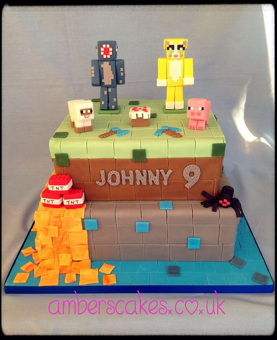 Cakes and Minecraft on Pinterest