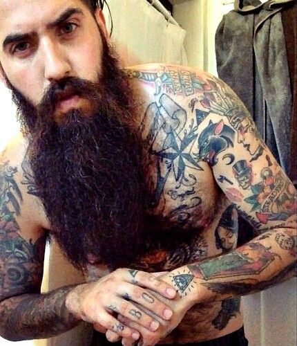 Tattoo beard
