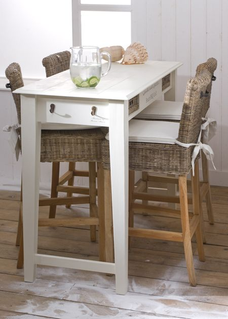 €899,- Sand and Shells Bar Table 145x60 #living #interior #rivieramaison: