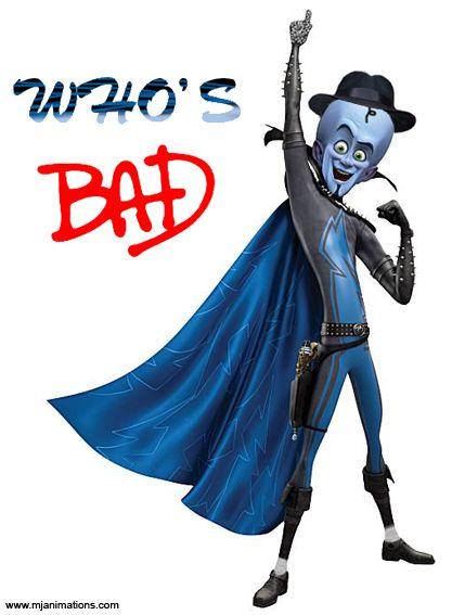 "Megamind ""Who's Bad""(Michael Jackson)"