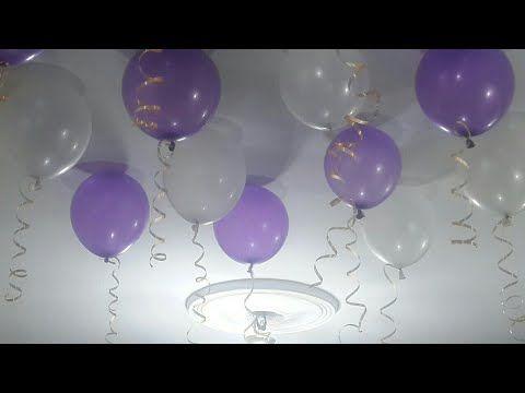 طريقة عمل البلالين المعلقة فى السقف بدون هيليوم وبكل سهولة لديكور عيد الميلاد والسبوع والمناسبات Youtube Creative Money Gifts Money Gift Lettering Alphabet