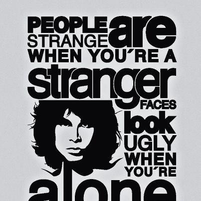 Image Number 2 Of Doors Stranger ...\\\\\\\  sc 1 st  Pezcame.Com & Lyrics Doors Strange u0026 Doors - Strange Days Lyrics