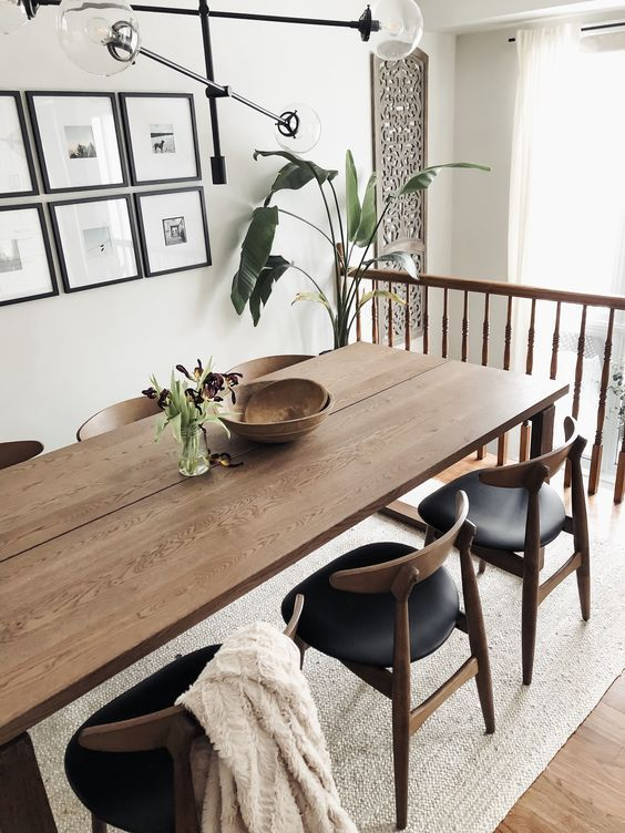 20++ Dark wood dining chairs ikea trends