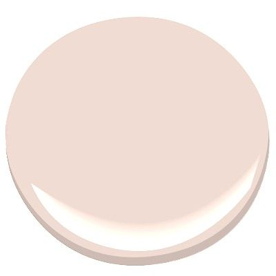 Blush pink paint color for walls. Sugarcane-1185 Benjamin Moore. 10 Romantic Tranquil Pink Paint Colors & Pretty Finds!