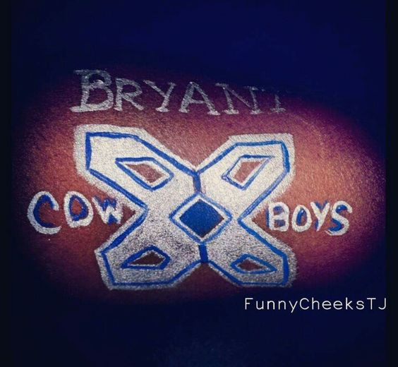 Dallas Cowboys Blue Star face painting by FunnyCheeksTJ Dallas Face Painter. Cowboys 4 Life.