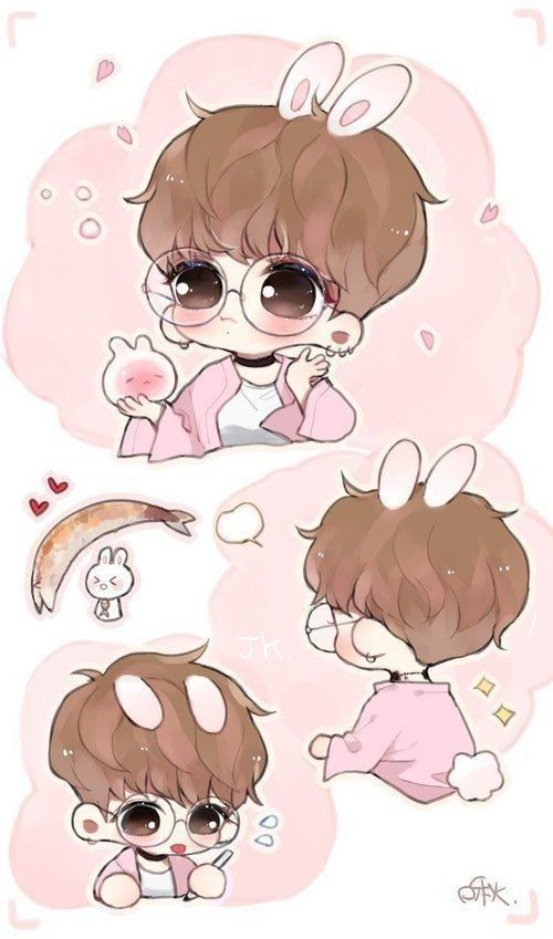 Pin By The Guy From Stacys Mom On Bts Drawings Bts Jungkook Chibi Bts Fanart