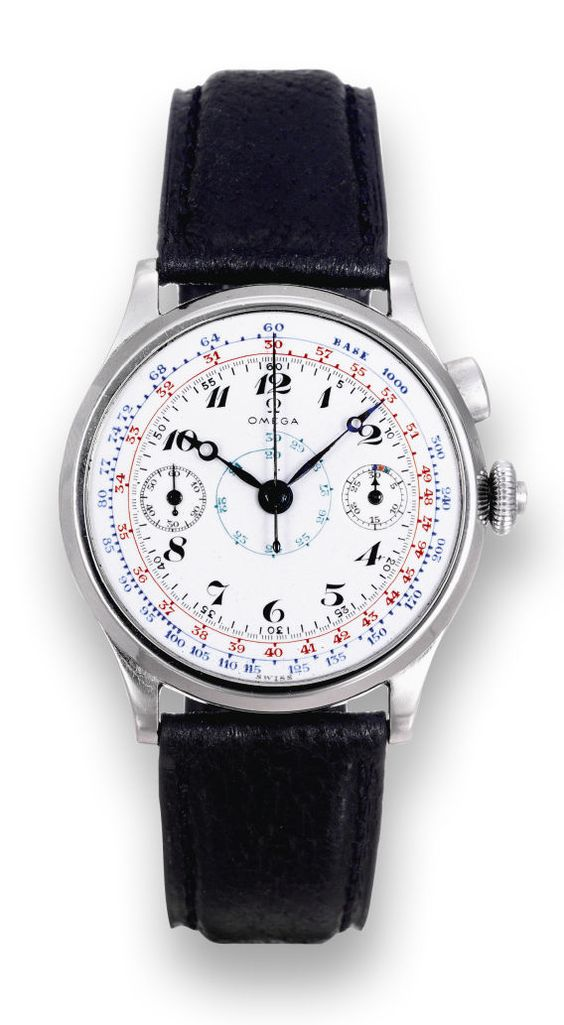 Stainless Steel Yacht-Timer Chronograph Omega