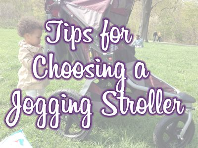 Tips for Choosing a Jogger Stroller and a BOB Revolution SE Review and giveaway