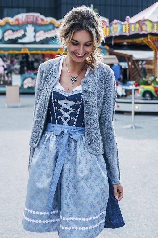 Dirndl mit Jacke von Spieth & Wensky | Dirndl, Dirndl outfit