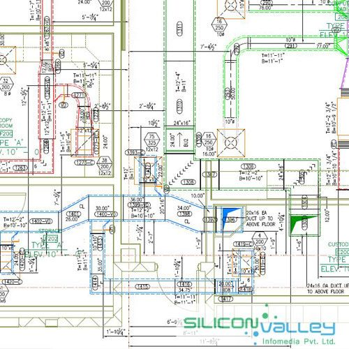 HVAC Shop Drawing Services - Siliconinfo | Hvac design, Plumbing drawing,  Hvac | Hvac Drawings Pictures |  | Pinterest