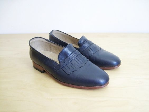 DIEPPA RESTREPO Luster Blue Loafers