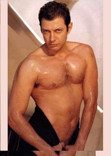 Jeff Goldblum, I don't know what it is, but all I have to say is yummmmmmm!
