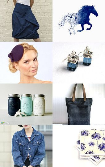 Denim by Magdalena on Etsy--Pinned with TreasuryPin.com
