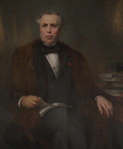 Léon Cogniet  - Portrait de Werlé Mathieu à la mairie de Reims