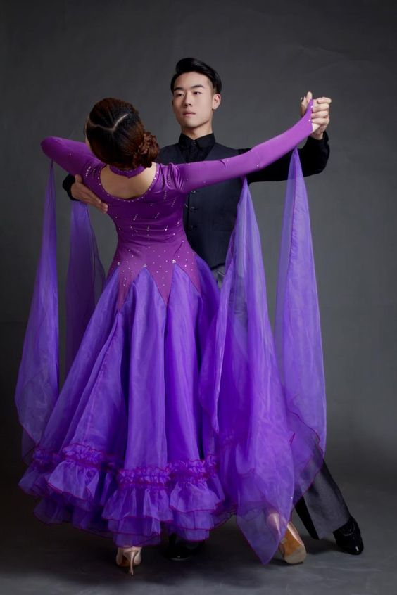 Pas cher 2016 salle de bal robe standard concurrence moderne valse de danse ballroom - Robe de danse de salon pas cher ...