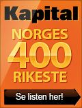 Norges 400 Rikeste (Norway's 400 Richest) - annual list from Kapital magazine:
