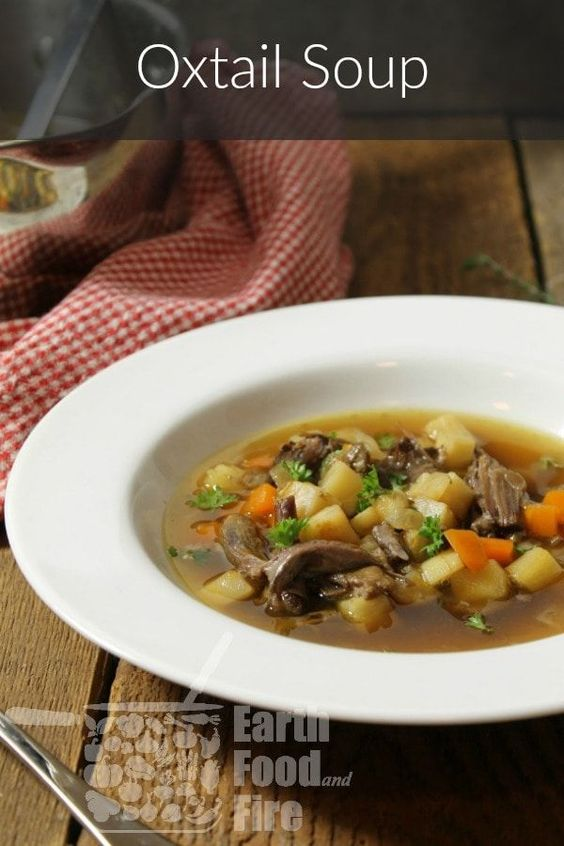 German Style Oxtail Soup