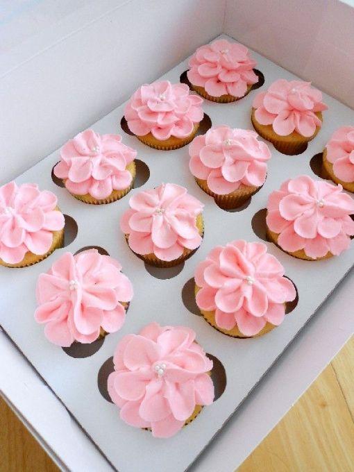 Best Cute Baby Shower Cupcake Ideas Girl Shower Cupcakes Baby