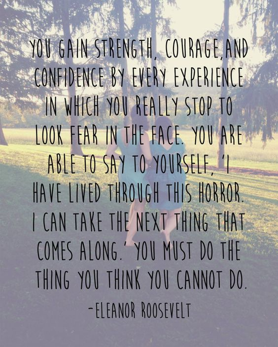 Inspirational Quotes About Depression: We'll Come Alongside You To Face Those Fears. Join Us At